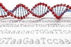 DNA-Hintergrund (Typ 05) vektor abbildung