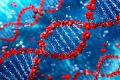 DNA-Hintergrund (Typ 05) Lizenzfreie Stockfotografie
