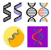 Dna icon Stock Image