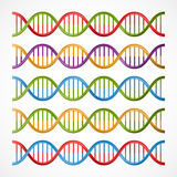 DNA icons, symbols for science and medicine. Royalty Free Stock Image