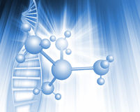 DNA illustration Royalty Free Stock Photos