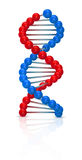 Dna illustration Stock Photography