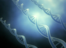 DNA illustration Stock Image