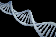 DNA komórki modela badania pojęcie, 3D rendering Obrazy Royalty Free