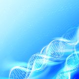 DNA magic figures. Royalty Free Stock Images