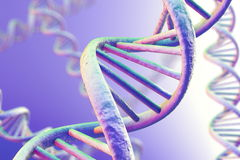 DNA Magnification Stock Photography