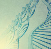 Dna in medical  background Stock Images