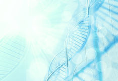 A dna in medical colour Royalty Free Stock Photography
