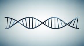 DNA model 3d. Medical illustration Stock Images