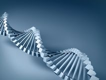 DNA model. Royalty Free Stock Photography