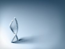DNA model Stock Photography