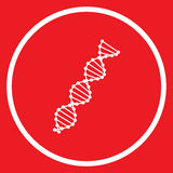 Dna model icon. Stock Vector of Stock Photography
