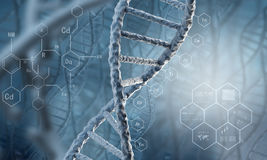 Free DNA Molecule Stock Photography - 59808832