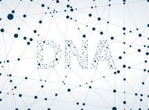 Dna molecule, abstract Stock Photos