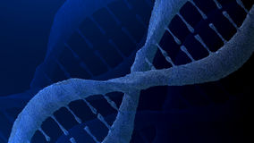 DNA molecule background Royalty Free Stock Photography