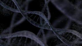 DNA molecule background Stock Photo