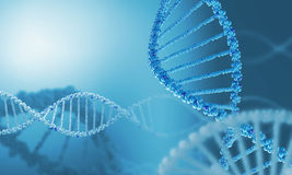 DNA molecule Stock Photos