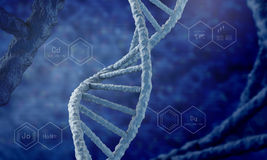 DNA molecule Stock Photography