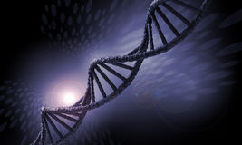 DNA molecule Royalty Free Stock Photo