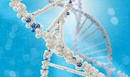 DNA molecule. Concept image Stock Image