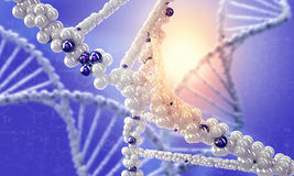 DNA molecule. Concept image Royalty Free Stock Photography