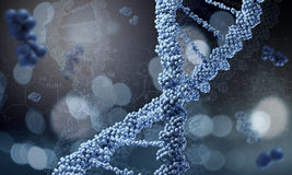 DNA molecule. Concept image Royalty Free Stock Photo