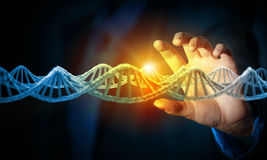 DNA molecule research Stock Images