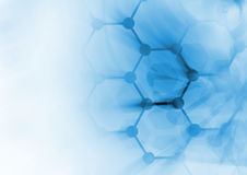 DNA molecule structure background Royalty Free Stock Images