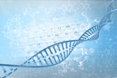 DNA molecules Stock Photos