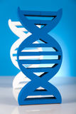 DNA molecules stock photography