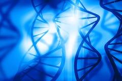 DNA-Moleküle Stockfoto