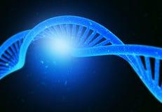 DNA-Moleküle lizenzfreie stockfotos