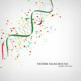 DNA-Molekülillustration Stockbilder