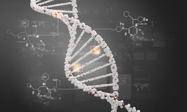 DNA molekuła zdjęcia stock