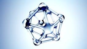 DNA molekuła robić wodna 3d ilustracja ilustracja wektor