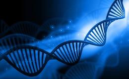 DNA molekuły ilustracja wektor
