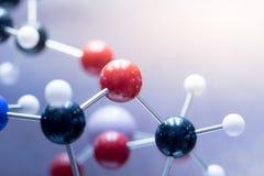 DNA molekuły lab test Zdjęcie Stock
