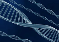 DNA nodel Royalty Free Stock Photography