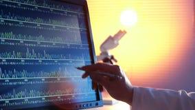 DNA-Opeenvolging stock footage
