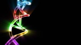 DNA pasemko, akcyjny materiał filmowy ilustracja wektor