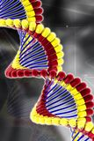 Dna in pill Royalty Free Stock Photo