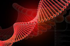 Free DNA Red Stock Photos - 13571653