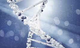 DNA research background Stock Photo