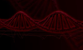 DNA research background Stock Image