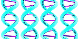 DNA / RNA x 4 Royalty Free Stock Image