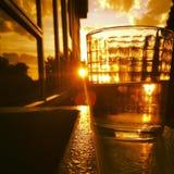 Dna słońca puszek Obrazy Stock