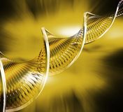 DNA- samenvatting royalty-vrije illustratie