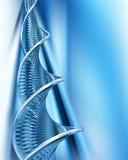 DNA- samenvatting Royalty-vrije Stock Foto's