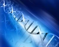 DNA- samenvatting Royalty-vrije Stock Fotografie