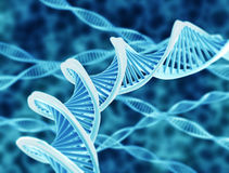DNA-Schnüre stock abbildung